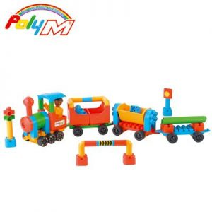 Poly-M® Le train multicolore