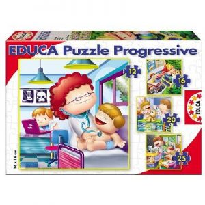 Puzzle progressif profession