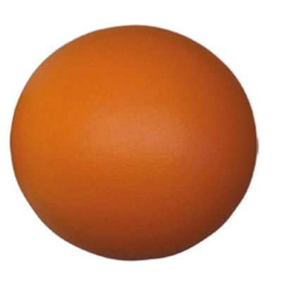 Ballon mousse orange 20 cm