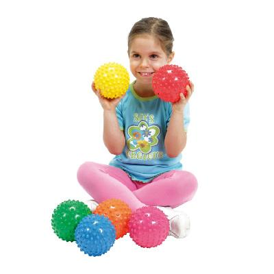 Lot de 6 balles easy grip 12 cm
