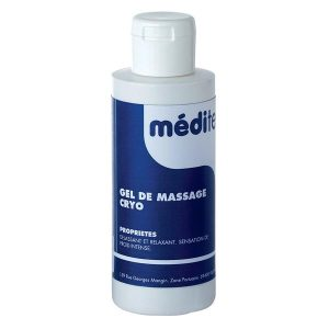 Gel de massage cryo Meditech