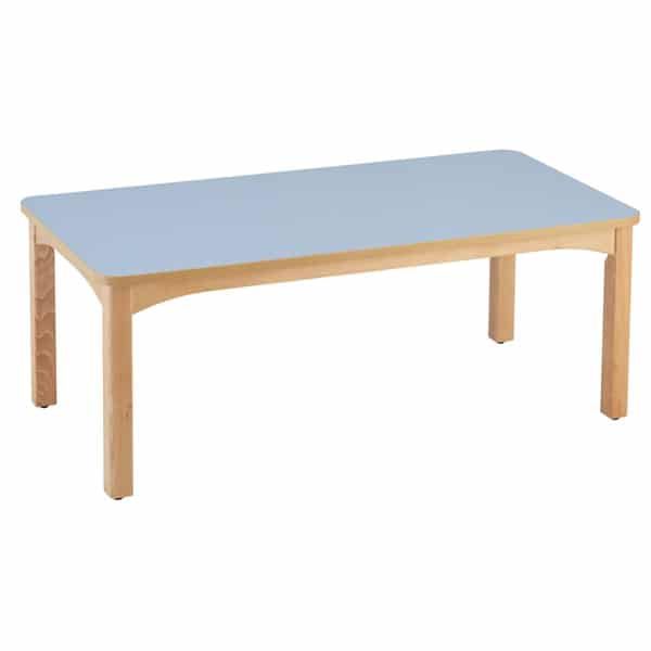 Table maternelle rectangulaire 160 x 80 cm