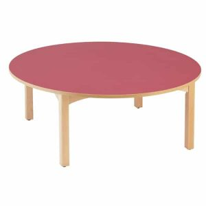 Table maternelle ronde diamètre 120 cm
