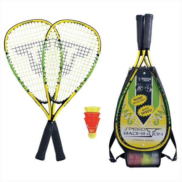 Ensemble de speedminton