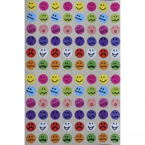 Gommettes smiley émotions