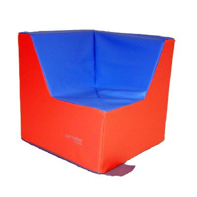 Grand fauteuil d'angle assise 32 cm