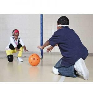 Balle sonore goalball trainer
