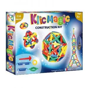 Klic Magic kit de construction 216 pièces