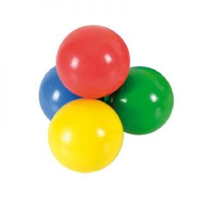 Lot de 4 freeballs coloris assortis