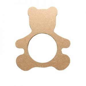 Rond de serviette ours - lot de 5